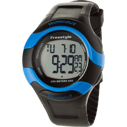 Fitness 75 laps around the park. 75 laps in the pool. As you sweat through 75 laps of whatever tortuous workout activity you could think up, the Freestyle Workout 75 Lap Watch will faithfully keep tally of your progress, and help you hit your target fitness goals. - $54.95