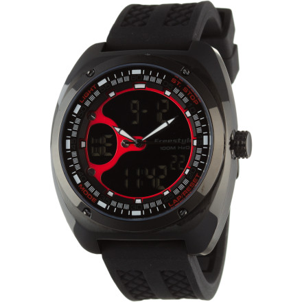 Entertainment Whether you're about to leave the house for an afternoon trail run, quick hike, or backpacking trip, slap the Freestyle USA Contact Watch on your wrist. - $104.96