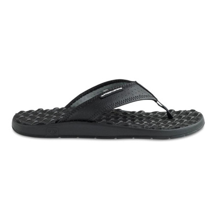 Surf Freewaters wants to improve your quality of life with a sandal so comfortable, you won't be able to contain yourself: the Men's Wet Dream Sandal. Lugs massage your feet and channel water out, and the rubber outsole features an eco-rubber patch that not only saves the heel, it helps save the planet too. Comfort, class, and style are what you get, and a cleaner life is what the Earth and its people get. - $19.98