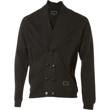 Once thought to be a rare mammal roaming underneath the canopy of the Amazon, the double-breasted Mercantile from Freshjive is actually a handsome jacket with cool buttons and stuff on it. Hmmmm, whodathunkit - $43.98