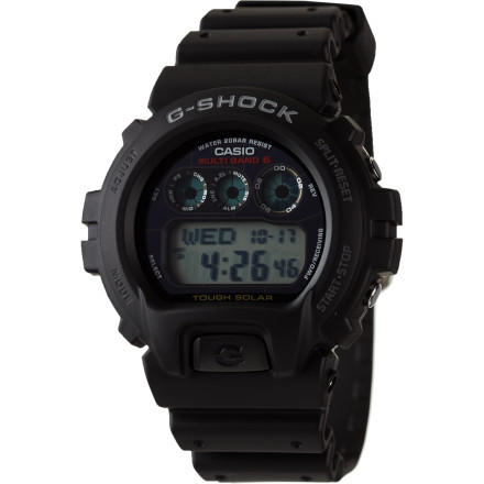 "Entertainment Make sure you have the G-Shock GW6900 Solar Watch on your next outdoor expedition. The solar-powered battery keeps you from running out of power on long trips, and it's shock- and water-resistant to stand up to whatever you get yourself into. Normal 0 false false false EN-US X-NONE X-NONE /* Style Definitions */ table.MsoNormalTable {mso-style-name:""Table Normal""; mso-tstyle-rowband-size:0; mso-tstyle-colband-size:0; mso-style-noshow:yes; mso-style-priority:99; mso-style-parent:""""; mso-padding-alt:0in 5.4pt 0in 5.4pt; mso-para-margin-top:0in; mso-para-margin-right:0in; mso-para-margin-bottom:10.0pt; mso-para-margin-left:0in; line-height:115%; mso-pagination:widow-orphan; font-size:11.0pt; font-family:""Calibri"",""sans-serif""; mso-ascii-font-family:Calibri; mso-ascii-theme-font:minor-latin; mso-hansi-font-family:Calibri; mso-hansi-theme-font:minor-latin; mso-bidi-font-family:""Times New Roman""; mso-bidi-theme-font:minor-bidi;} - $129.95"