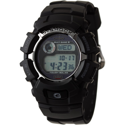 Entertainment Take the G-Shock GW2310 Solar Watch on your most rugged adventures, from sea to summit. It's shock-resistant to handle rough tumbles and water-resistant up to 200m for watery journeys, plus you'll never have the wrong time thanks to automatically-updating Multi-Band Atomic Timekeeping. - $129.95