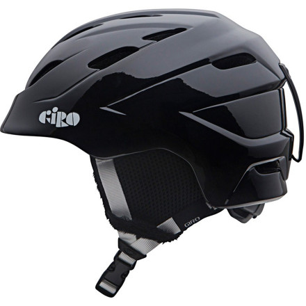 Snowboard These days, wearing a helmet is cool, which makes your task of keeping your kid's cranium intact way easier, and the Giro Kids' Nine.10 Helmet makes it even easier. Its hip, fun look, ample ventilation to prevent uncomfortable sweaty-head and goggle-fog, and light weight will quell your mini ripper's protests. And its solid polycarbonate, high-impact shell helps protect your grom's dome from hard snow, low-hanging tree branches, and out-of-control adults trying to keep up with their kids. - $58.47