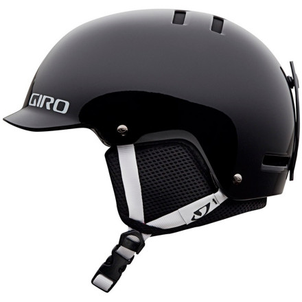 Snowboard Take the skate style to the slopes with the coolly brimmed Giro Kids' Vault Helmet. Your kid has attitude and a lot of fun; put some protection on that strong head with something that fits your ripper's style. The Vault's bold design and cool graphics house serious hard-shell protection without compromise. Precision fit, ample ventilation, and accommodating removable earpads make it so comfy your ski star will forget it's even there. - $48.72
