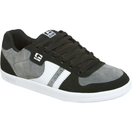 Skateboard Keep the show going in style with the Men's Globe Encore Generation Skate Shoe and don't stop till the crowd can't take anymore. You can try wearing through the reinforced toe, but the Encore is crafted with another session, another day, another week, and another month in mind. And no matter how hard you skate, the open-cell AirFlow foam pads your hoof and helps keep it cool so you go home with less chance of trench-rot after a serious urban battle with concrete and steel. - $57.56