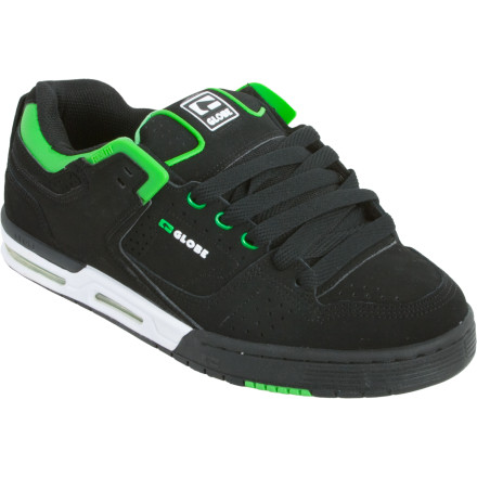 Skateboard The vid of yourself at the park that you just posted has already gotten 10,531 hits, so maybe it's time to up your gameand your gear. The Globe Men's Cleaver Skate Shoe is packed with the fit, cushioning and grip tech you need to get to the next level. - $44.98