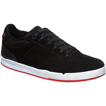 Skateboard By Odin's raven, this shoe is light! The lightweight, breathable version of Chris Haslam's pro model, the Odin S2 Men's Skate Shoe, features mesh in the upper to prevent swampfoot, and the Nitrolite midsole and Featherlite outsole reduce weight without compromising grip or support. - $41.97