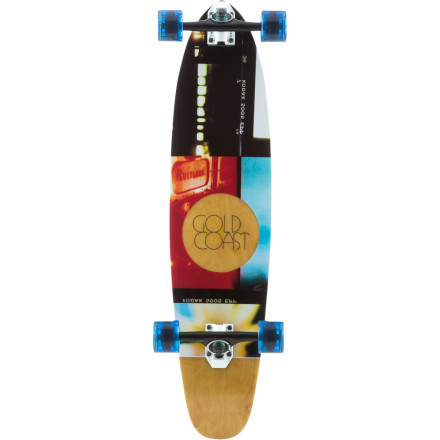 Skateboard Time waits for no man. But the Goldcoast Hour Complete Longboard was designed for every man, woman, and adolescent looking to spend time carving up asphalt atop a lively piece of wood with quality components to carry you into the sunset. - $147.96