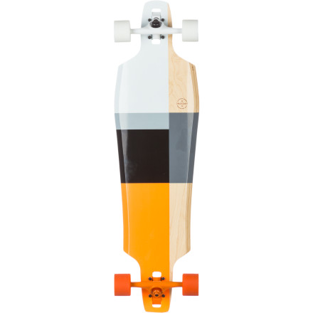 Skateboard The Pressure is on baby! Jump on the Gold Coast Pressure Longboard and get ready to break the sound barrier without having to even leave the ground. You will also find the the generous wheelbase and 10.5in width helps prevent unexpected ejections, instead providing the stability you need to ride hrough the speed wobbles. - $224.96
