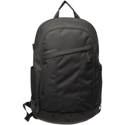 Camp and Hike The Gravis Battery pack is a new addition to Gravis line of street style laptop backpacks. This pack features an external access laptop compartment that is able to fit up to a 17 inch laptop. A spacious main compartment has plenty of room for whatever you want to bring along, and the front zippered pocket and discreet side stash pocket are great for items you need quick access to. - $48.97