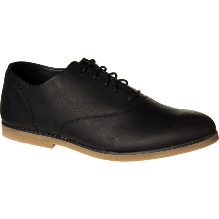 Entertainment In true secret-agent fashion, the derby-shoe-themed Gravis Buxton Shoe lets you dress up without taking away your ability to spring into action (say, cracking an ollie or laying out a nice powerslide) when you feel like it. - $76.97