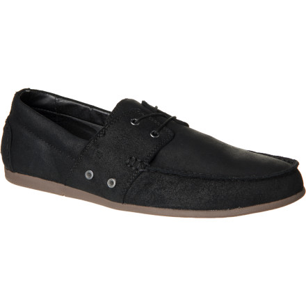 Add some aquatic awesomeness to your look this season with Dylan Rieder's boat-inspired Gravis Lace Wax Shoe. - $80.97