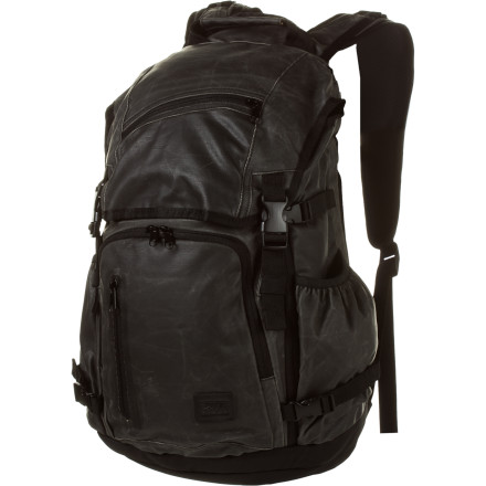 Camp and Hike The Gravis Radius Backpack holds all your electronics and more, whether you're hopping on the bus to school or hopping on an international flight. Exterior-entry laptop sleeve and side-entry tablet computer sleeve allow quick access so your homework (let's be honest, social media page) is never far out of reach. - $80.47