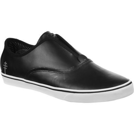 Skateboard Dylan Rieder's super-slim slip-on gets the LTD treatment in the Gravis x Alien Workshop collab version of his pro-model shoe. - $69.97