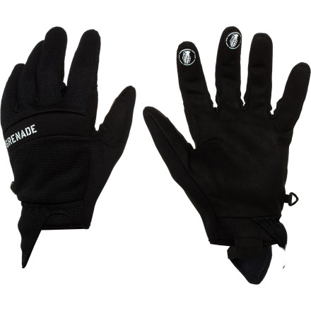 The Grenade Murdered Out Glove is available in three colors: Black, black, or black. Pick whichever suits you best and get after it. - $23.97