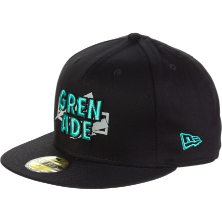 Are you the type who gives 1,750%, all the time Then you'll appreciate the Grenade The Max New Era 5950 Hat. It's flat-brim fashion...TO THE MAX!!! - $19.22