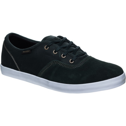 Skateboard A sporty yet laid-back kick, the Habitat Expo Skate Shoe is sleek and simple with a definite nod to skateboarding with its asym-wrapped suede and vulcanized sole. - $32.97