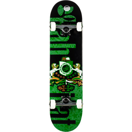 Skateboard Not able furnish your pedigree Just show those whom it may concern your Habitat Coat Of Arms Complete Skateboard and they will be none the wiser. - $109.95