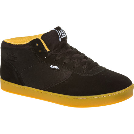 Skateboard With the comfort of a Phylon footbed underfoot and clean, contoured lines on the upper, the Habitat Lark Mid Exolyte LTD Skate Shoe is as handsome as it is ruggednot like those male models who sit around khakis and pastel-colored polo shirts. - $43.77