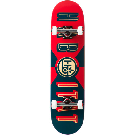 Skateboard Get that cover shot photo with the Habitat Headline Complete Skateboard. The seven-ply maple deck will keep its pop and hold up to however many tries it takes to stomp it clean and get the shot. - $49.98