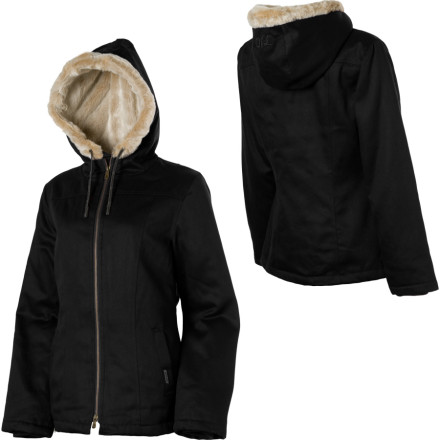 Get fired up in chilly weather with the Hemp Hoodlamb Women\222s Classic Hoodlamb Jacket. This comfy jacket features a soft hemp and organic cotton twill shell with a hemp satifur lining for added fleecy comfort. Hemp Hoodlamb included an interior stash pocket and a rolling paper dispenser, so you\222ll be ready when it\222s time to pass the dutchie on the left hand side. - $158.37
