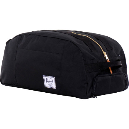 Camp and Hike Next time you hop on the midnight train going a-ny-where, make sure you have the Herschel Supply x Holden Journey Duffel Bag. Acceptable for both small-town girls and city boys alike. - $55.97