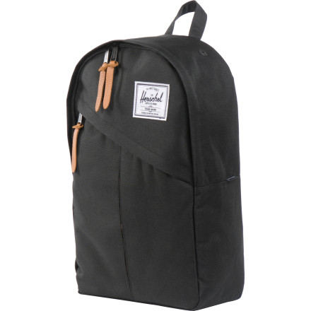Camp and Hike Cram your haul for work, school, or play into the Hershel Parker Backpack. The Parker is a cleanly styled 17-liter pack with a separate laptop compartment and enough room to hold everything you need for a busy day of making moves. - $57.95