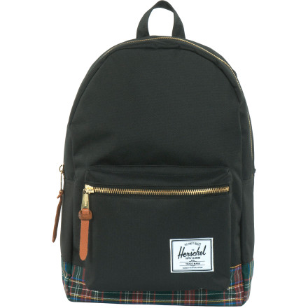 Camp and Hike Isn't it about time to get rid of that backpack you've had since sixth grade It smells funny and you keep losing homework through that hole in the bottom. Upgrade to the Herschel Supply Settlement Tartan Collection Backpack and get a little more respect from your professors and peers. It has a clean, classic look with a tartan patterned lining so even the inside looks classy, and the main compartment has a laptop sleeve so your computer will stop mixing with your cheesy puffs. - $59.95