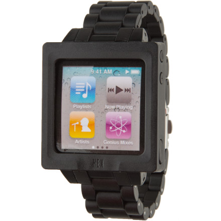 Entertainment Hex's original Icon Watch Band lets you turn your 6th- or 7th-generation iPod Nano into a funky, super-mod wristwatch. The easy-in, easy-out design features integrated control buttons for seamless operation. - $5.99