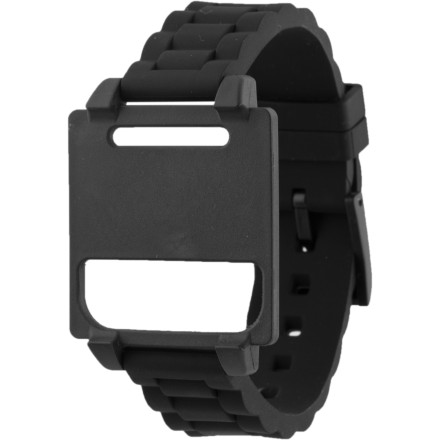 Entertainment Like a device used by a tech-savvy protagonist out of a sci-fi flick, the Hex Vision Plastic Watch Band will help you save the day. That is, if saving the day has anything to do with wearing your iPod nano on your wrist. - $6.24