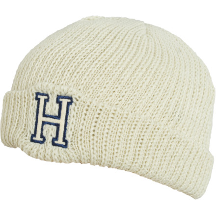 The Holden H Logo Beanie has nothing to do with that cold sore on your lip, even though it does have a big H right on the front of its flip-up cuff. - $8.73