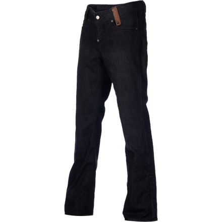 Snowboard Yes, the Holden Men's Genuine Denim Skinny Pant features actual, 100% cotton denim, just like your jeans. It will break in and fade to the point of perfection, just like your jeans. But unlike your jeans, it won't soak up water like a sponge thanks to a 20K waterproof laminate and fully taped seams. - $99.98
