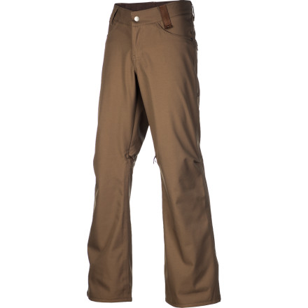 Snowboard The best-selling Standard pant is a favorite among Holden fans season after seasonand considering the dialed modern fit, fully taped 10K laminate, and eco-friendly details like recycled lining and solvent-free construction, it doesn't take a genius to see why. - $94.98