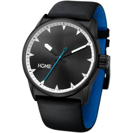 Entertainment The hOme C-Class watch delivers a refined take on classic luxury-watch style. Full Swiss movement and hand-made construction ensure quality that's built to last, while fresh details like the contrast-color second hand and inner strap give you a subtle yet unique look. - $348.95