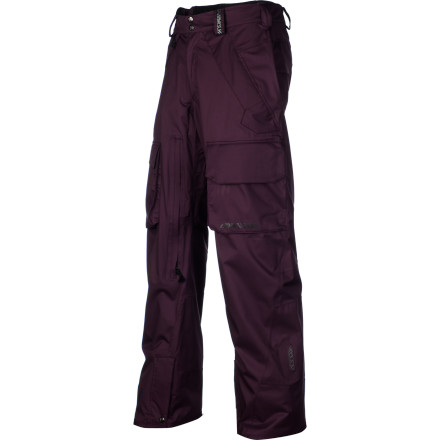 Snowboard The Homeschool Revolve Men's Snowboard Pant is for the riders who spend their entire winters chasing pow in places that few others venture to. It has an incredibly breathable Continuum fabric to regulate your temperature when you're on long hikes on the hunt for freshies. The fit isn't rockstar-skinny or thugged out-huge, it's designed for maximum freedom of movement for the snowboarder who's concerned with what is going to work the best deep in the mountains, in a place where trends don't matter. - $137.48