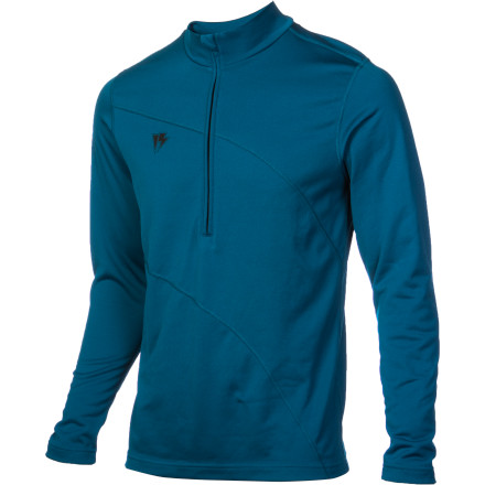 Camp and Hike A waterproof breathable shell doesn't do you much good if your baselayers are drenched in sweat after one hike. Luckily the quick-drying Art Hag Men's Mock Neck Top is infused with carbon particles that drastically improve breathability so you stay dry on long treks. - $47.97