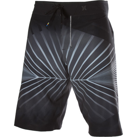 Surf Careful: it may only take one look at the Hurley Phantom 60 4D Board Short to re-trigger your dormant epilepsy. - $119.56