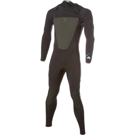 Surf We know you're tough and all, but when the water and air temperatures turn chilly, invest in the Hurley Men's Fusion 302 Chest Zip Wetsuit to keep you surfing longer. Made up of 2-3mm exoflex fabric, the Fusion 302 features glued, compression bonded, blind-stitched construction and seamless paddle zones that provide you with all-day, chafe-free comfort. - $164.47