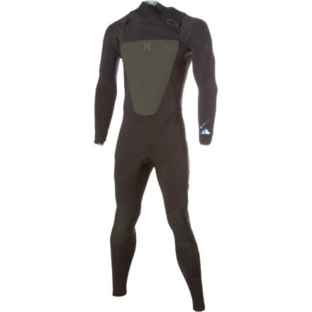 Surf When the best months of surf happen to be fall and winter, pull on the Hurley Men's Fusion 403 Chest Zip Wetsuit and start riding. Polypropylene chest and back panels increase warmth so you're not a shivering mess waiting for a set to move in. Stretchy exoflex fabric and Fusion tape line the entire suit, providing you with watertight seams so you don't feel the flush of icy cold water when you paddle out. - $178.47