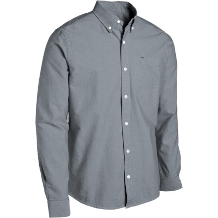 Surf Who needs a cool nickname when you have the Hurley Ace Oxford Long-Sleeve Shirt You'll probably still get one, but we'd recommend staying away from nicknames like Stinky, Nubs, or Oozy. - $41.67