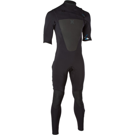 Surf The Hurley Men's Fusion Chest Zip Wetsuit keeps your arse comfortable in nippy spring or fall surf. Thanks to the 2mm stretchy neoprene, your able to throw down on your surfboard or awe your friends on your wakeboard. The horizontal chest zip adds so much flexibility in the back and shoulders that, while wakeboarding behind a boat, you can probably catch a beer mid-air, open it with one hand, pound it, and then toss the crushed empty can back to your bro. - $139.27
