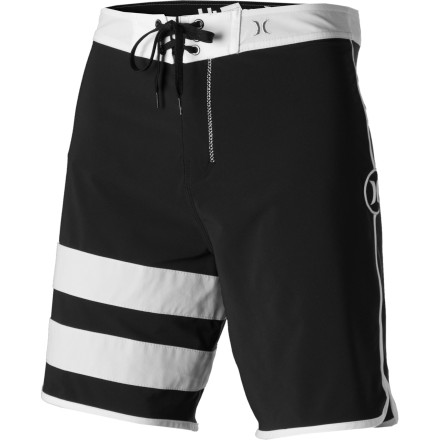 Surf The Hurley Men's Phantom Block Party Solid Board Short is so incredibly stretchy, so ridiculously quick-drying, so unequivocally surf-specific, you'll be hard-pressed to convince even yourself that it's real. - $41.62