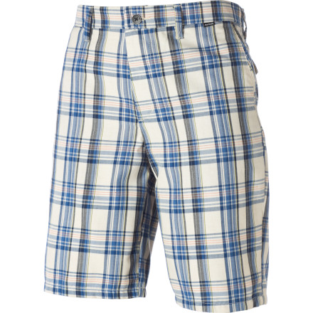 Surf The Hurley Shank Shorts are great for those times when you want a look that's a little casual and a little classy. It's like not wanting to drink a cheap beer but not wanting to drink champagne either. - $32.97