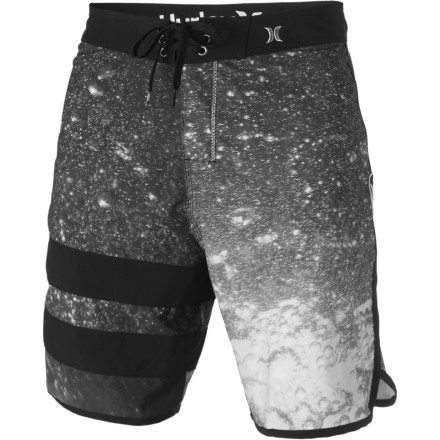Surf The Hurley Phantom Block Party Fizz Board Short is to your lower body what seltzer tablets are to a raging hangover. - $38.97