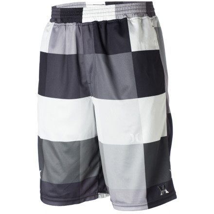 Skateboard Gym, garage, couch, or court, the Hurley Kings Road Mesh Shorts are comfy, breathable, and stylish no matter where you wear 'em. - $39.45