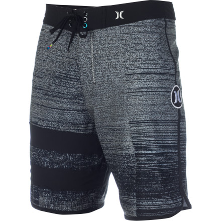 Surf Stop staring at the tube, get off the couch, and go get pitted in the tube with the high-tech and super-comfortable Hurley Phantom Block Party Tube Board Short. - $51.96