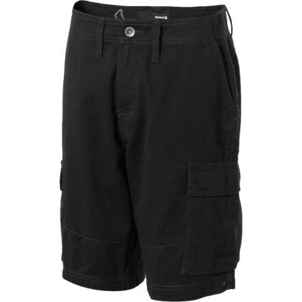 Surf Wear the Hurely Boys' Commando Short into battle. Or to the skateparkwhichever comes first. - $17.78
