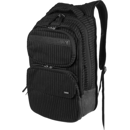Camp and Hike Sync your hectic life with the Hurley Women's Sync Laptop Backpack. - $38.47