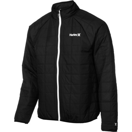 Snowboard The Hurley Outer Edge Jacket brings a technical feel to the world of causal jackets. This insulated coat is great for cool-weather walks to work or hanging out around campus. Thanks to its warm insulation and DWR treatment, this around-town jacket can even double as a snowboarding midlayer in a pinch. - $59.67