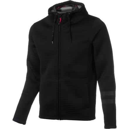 Surf Winter beach strolls let you study the day's surf conditions, so zip up the Hurley Phantom Full-Zip Hoodie to take the edge off the chill and the spray blowing in from the sea. - $179.45